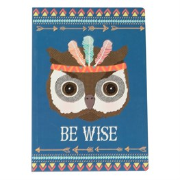 Be Wise Owl Animal Adventure A5 Notebook