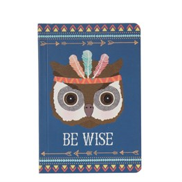 Owl Animal Adventure Pocket Notebook
