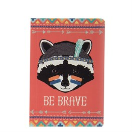 Raccoon Animal Adventure Pocket Notebook