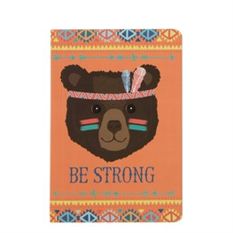 Bear Animal Adventure Pocket Notebook