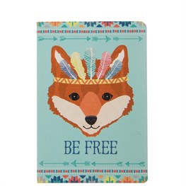 Fox Animal Adventure Pocket Notebook