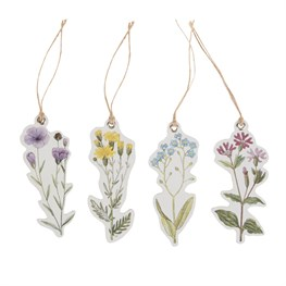 Set of 12 Wildflower Gift Tags