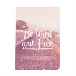Pink Wanderlust Adventure A5 Notebook