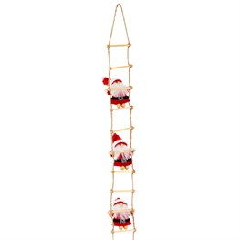 Climbing Santa Ladder Decoration