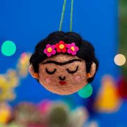 Frida Hanging Felt Decoration