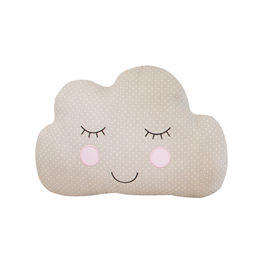 Brown Sweet Dreams Decorative Cloud Cushion