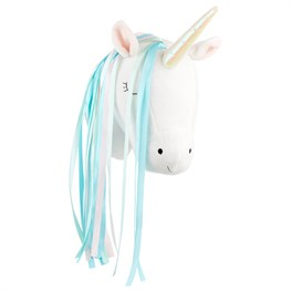 Betty The Rainbow Unicorn Head Wall Decoration