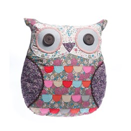 Molly Vintage Floral Owl Cushion