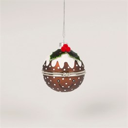 Christmas Pudding Trinket Bauble