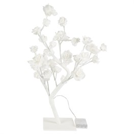 White Roses LED Light Standing Decoration Small