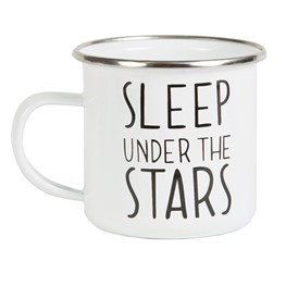 Sleep Under the Stars Enamel Mug