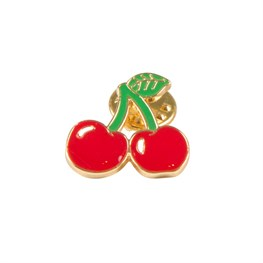 Cherry Stem Pin Fashion Accessory