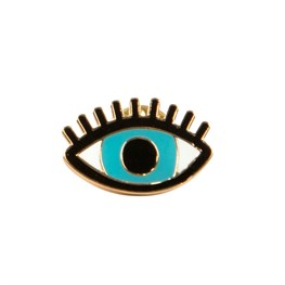 Blue All Seeing Eye Pin Fashion Accessory