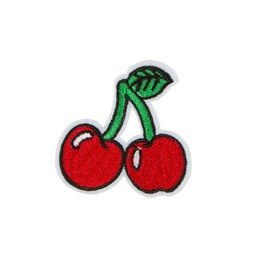 Cherry Stem Iron on Patch Accessory