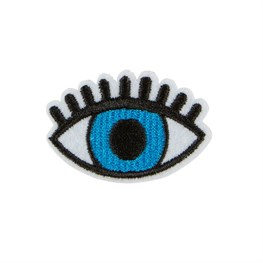 Blue All Seeing Eye Iron on Patch Accessory