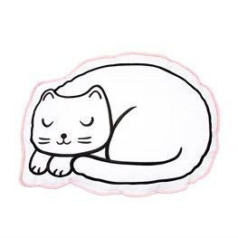 Cutie Cat Nap Time Decortaive Cushion