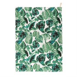 Botanical Jungle Tea Towel