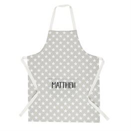 Nordic Star Kid's Personalised Apron