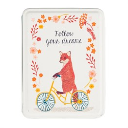 Follow Your Dreams Fox on  Bike Tin