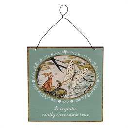 Fairytales Come True Vintage Fairies Plaque