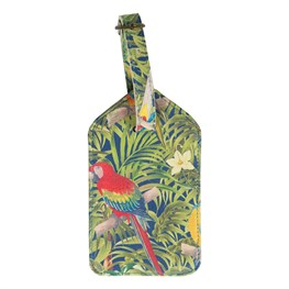 Parrot Paradise Luggage Tag