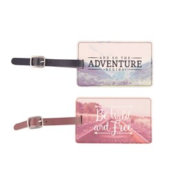 Wanderlust Adventure Luggage Tag (Options Available)