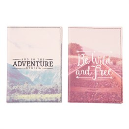 Wanderlust Adventure Passport & Card Holder (Options Available)
