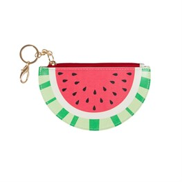 Tropical Watermelon Keyring Coin Purse