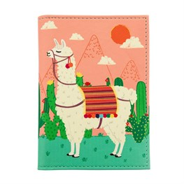 Lima Llama Passport Holder
