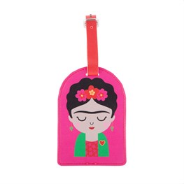 Frida Luggage Tag