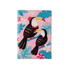 Tiki Toucan Passport Holder