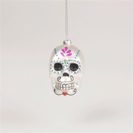 Day of The Dead Sugar Skull Bauble