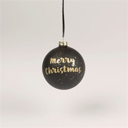 Merry Christmas Luxe Bauble
