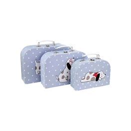 Barney The Dog Suitcases - Set of 3