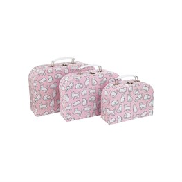 Cutie Cat Suitcases - Set of 3
