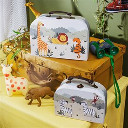 Savannah Safari Suitcases - Set of 2