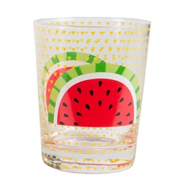 Glass Tumbler - Watermelon
