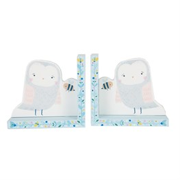 Owl Woodland Friends Bookends