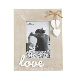 Ashley Farmhouse Love Standing Photo Frame