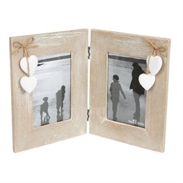 Ashley Farmhouse Double Standing Photo Frame