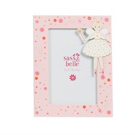 Light Pink Fairy Wishes Picture Frame