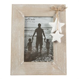 Ashley Farmhouse Stars Photo Frame
