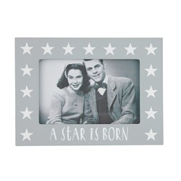 Nordic Born Star Photo Frame