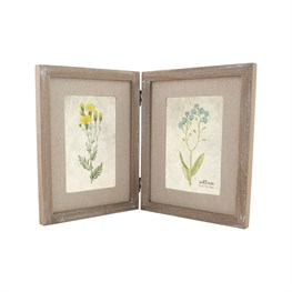 Devonshire Farmhouse Double Photo Frame