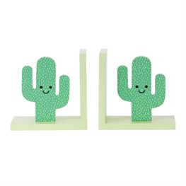 Happy Cactus Bookends