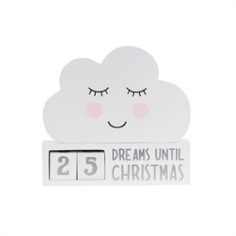 Sweet Dreams Cloud Countdown Blocks