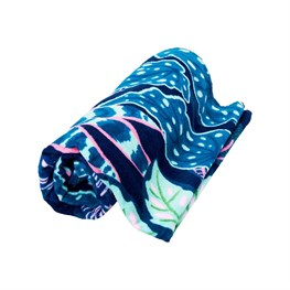 Variegated Leaves Beach Towel