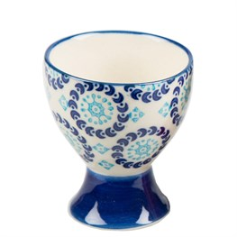 Mix & Match Bohemian Egg Cup - Dark Blue