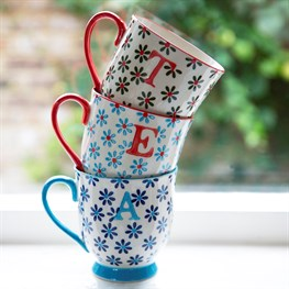 Bohemian Mug Letter (options available)