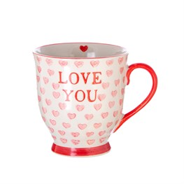 Love You Hearts Mug